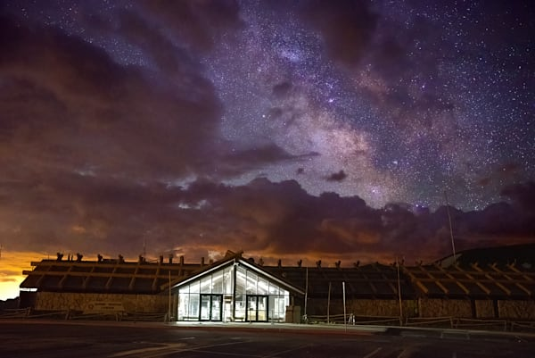 Visitor Center To The Galaxy Photography Art | Nicholas Jensen Photography