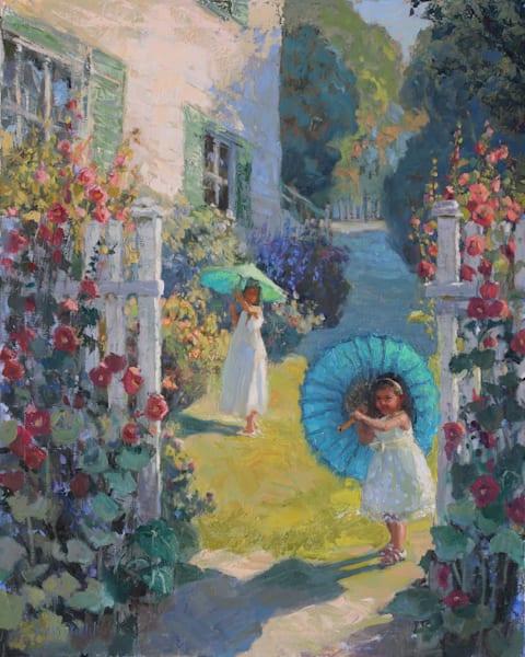Sunbrellas Art   Diehl Fine Art