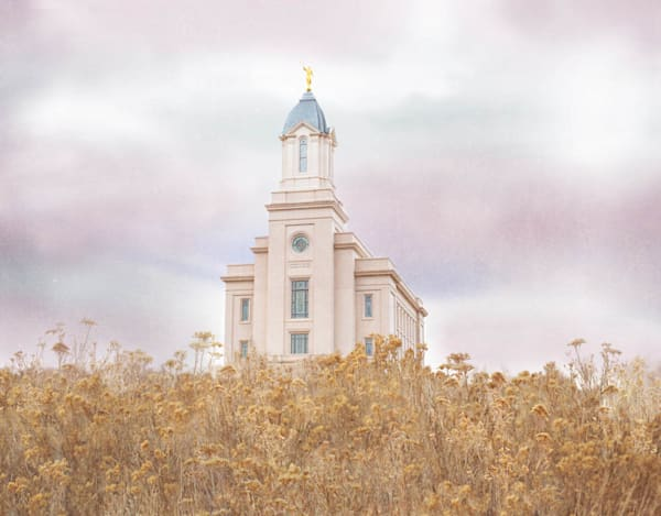 Cedar City Utah Temple - Light on the Hill