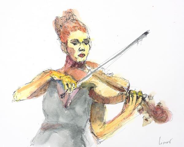 Violinist | Limor Dekel Fine Art