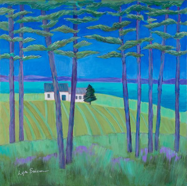 Farmhouse  Art | lynnericson-fine-art.com