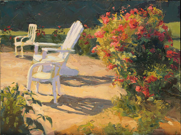 Waiting The Audience Art | Diehl Fine Art