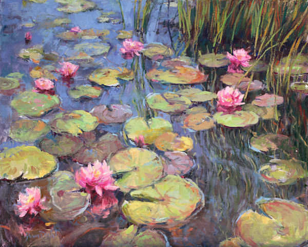 Water Garden Art | Diehl Fine Art
