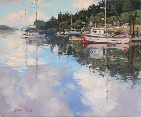 Watery Sky Art | Diehl Fine Art