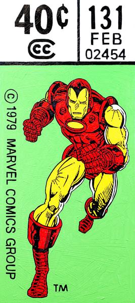 I Am Iron Man! Print Art   Todd Monk Art