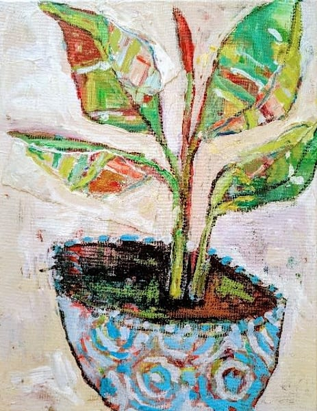 Foliage & Negative Painting   staciswider