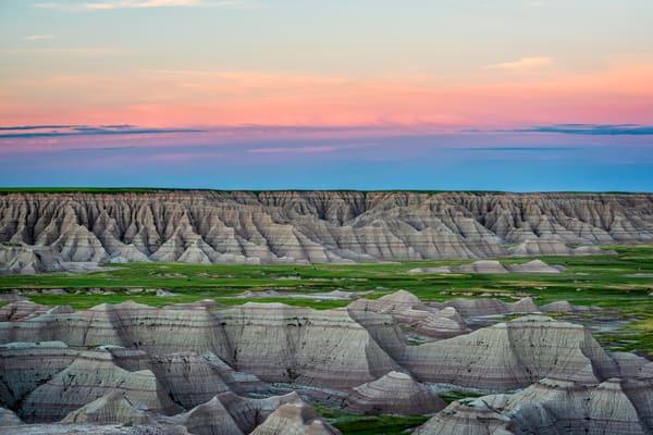 Sunset over the Badlands - South Dakota fine-art photography prints
