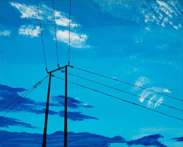 Electric Blue Art | Emma Frost