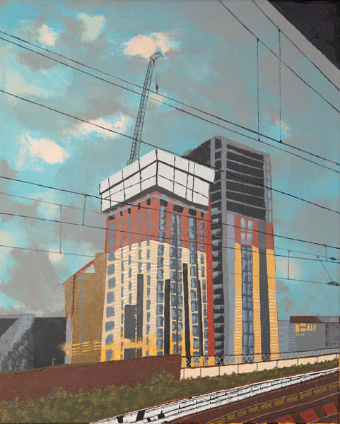 Train Windows   Glasgow Art | Emma Frost