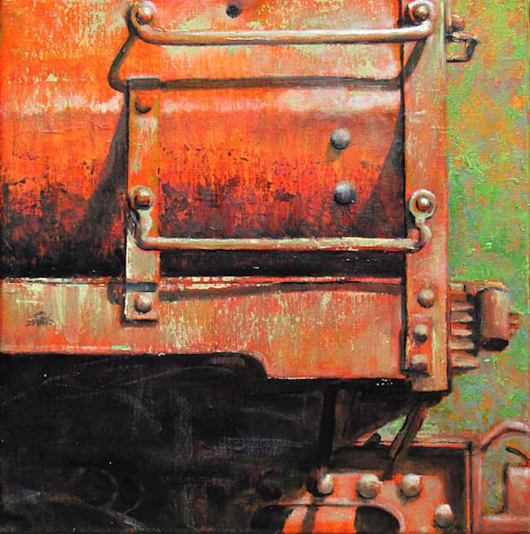 Primary Red Square Art | Fountainhead Gallery