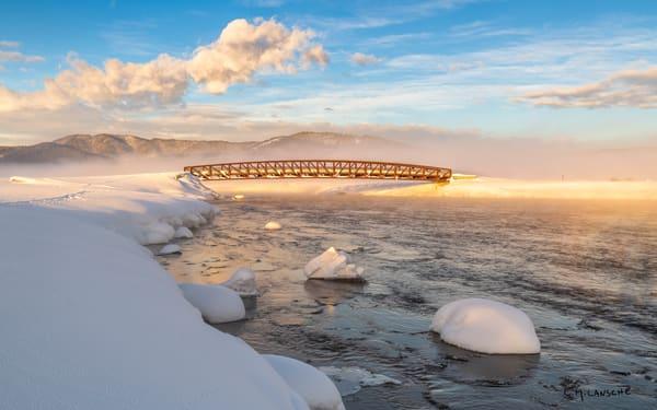 Winter Crossing - Harriman Ranch Bridge #2206