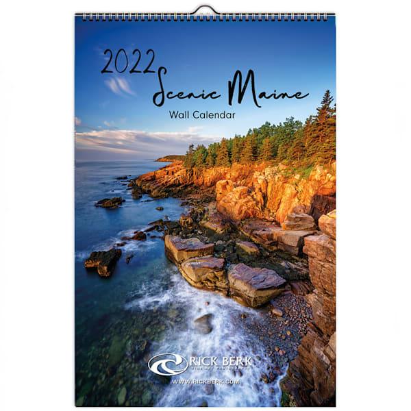 2022 Scenic Maine Wall Calendar   Shop Photography by Rick Berk