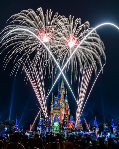 2021 Happily Ever After 1 - Disney World Wall Art | William Drew Photography