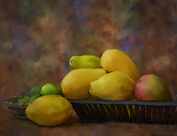 Island Fruit Art | Rick Peterson Studio