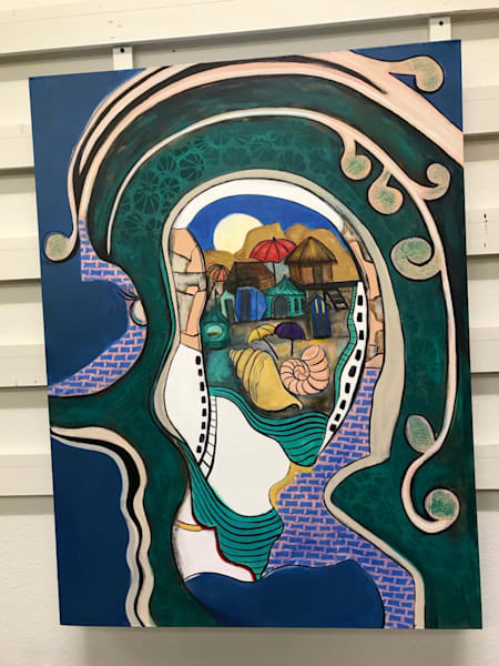 Follow Your Nose To Your Beach House (Need Finished Photo) | Judith Visker Art