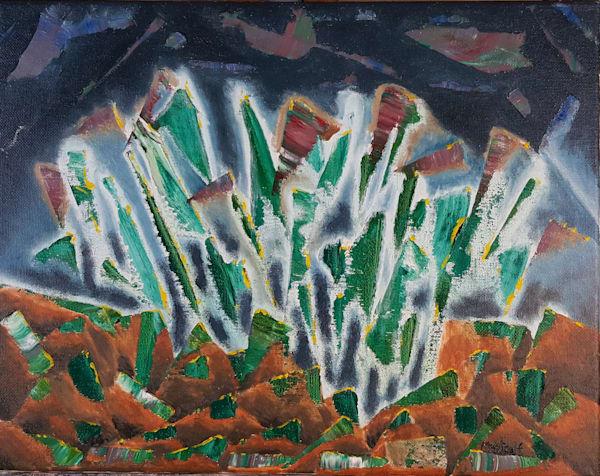 Emerald City - Original Oil Painting