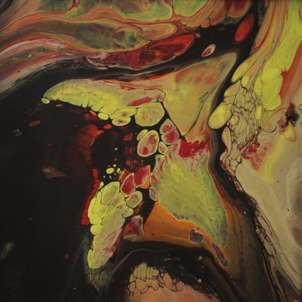 Fiery No 1 Abstract Art Prints