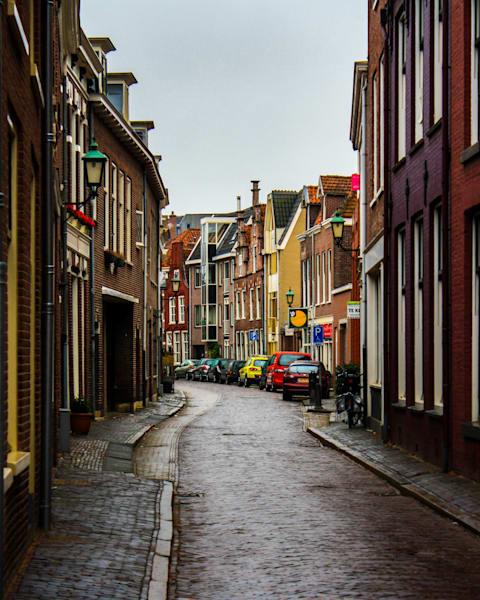 "Streets Of Haarlem 24""X30"" Metal Art Print | Happy Hogtor Photography"