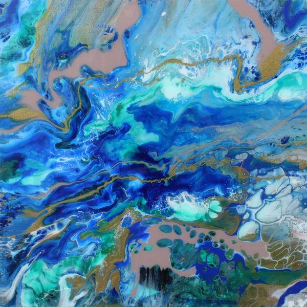 Deep Sea - Acrylic Painting Prints and Merch