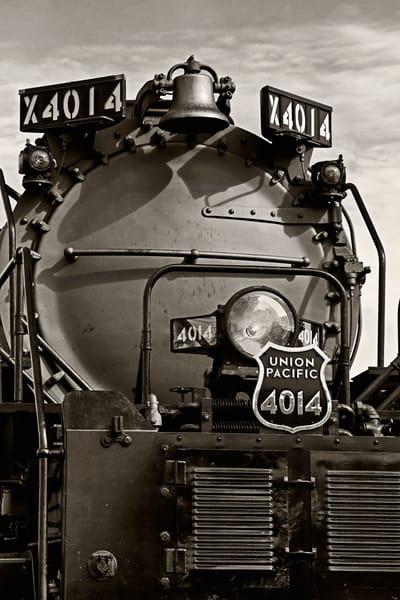 Face of Big Boy 4014 - Vintage trains fine-art photography prints