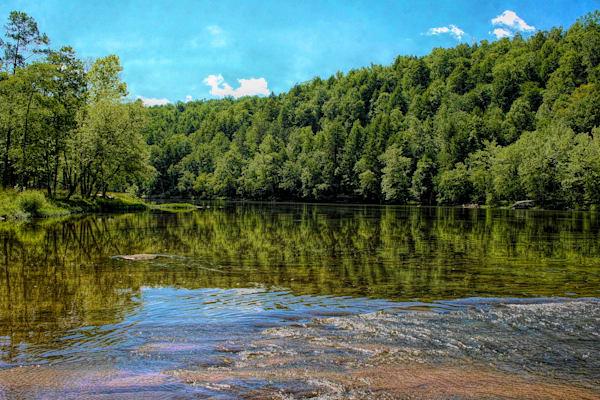 Cumberland River Reflection 116