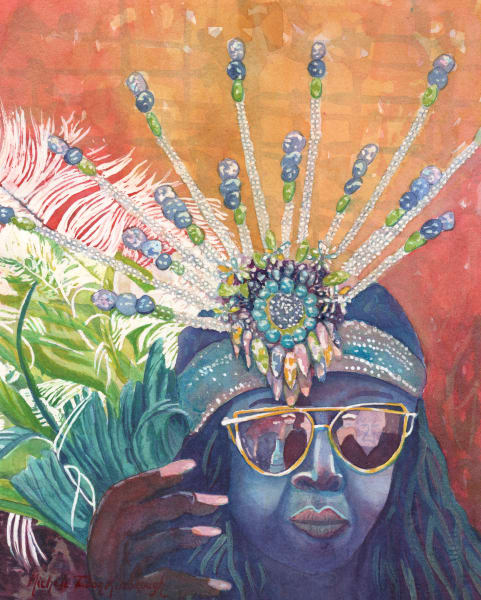 46. Crucian Carnival Series Xxxxvi Art   Michele Tabor Kimbrough