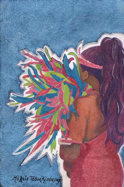 48. Crucian Carnival Series Xxxxviii Art   Michele Tabor Kimbrough