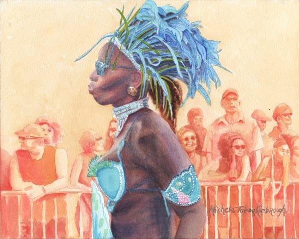 16. Mer Queen S Guardian   Crucian Carnival Series Xvi Art | Michele Tabor Kimbrough