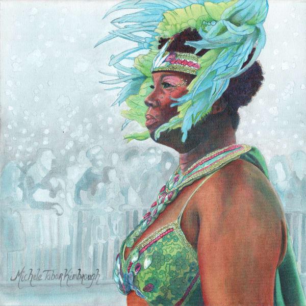 20. Dinah   Crucian Carnival Series Xx Art | Michele Tabor Kimbrough