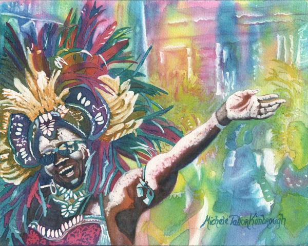 30. Crucian Carnival Series Xxx Art | Michele Tabor Kimbrough