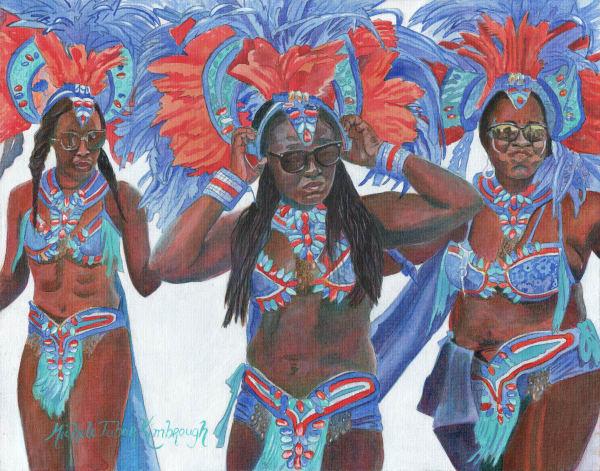 31. Crucian Carnival Series Xxxi Art   Michele Tabor Kimbrough