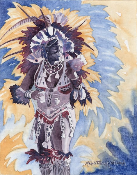 32. Crucian Carnival Series Xxxii Art   Michele Tabor Kimbrough