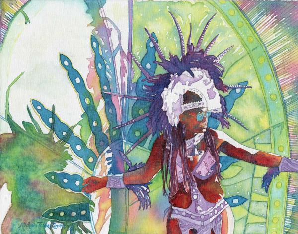 34. Crucian Carnival Series Xxxiv Art   Michele Tabor Kimbrough