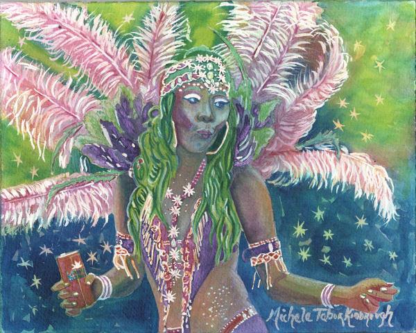 36. Crucian Carnival Series Xxxvi Art   Michele Tabor Kimbrough
