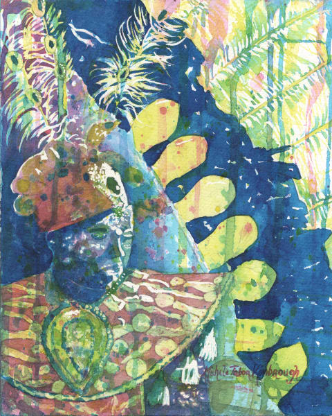 40. Crucian Carnival Series Xxxx Art   Michele Tabor Kimbrough