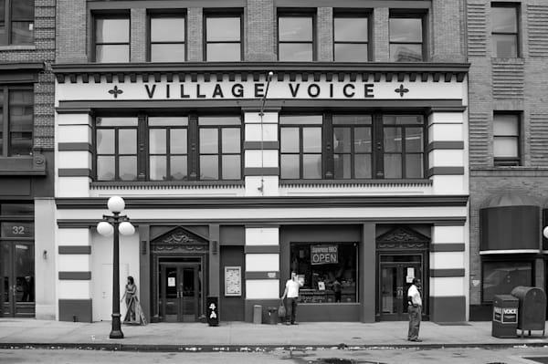 Village Voice Photography Art   Nick Levitin Photography