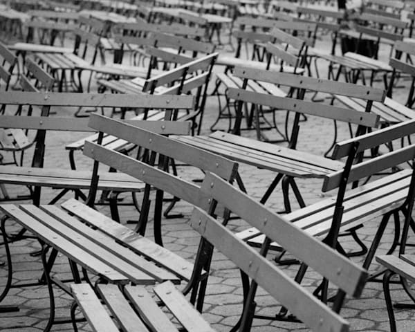 Benches Central Park Ny 1970 Copy Photography Art | Nick Levitin Photography
