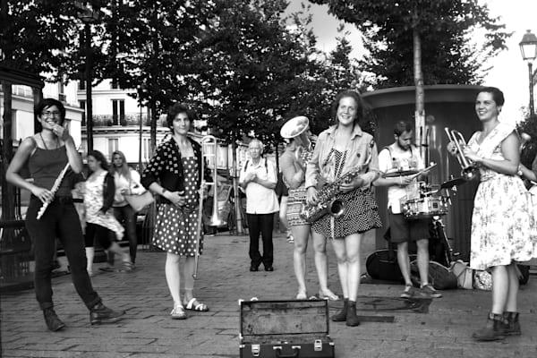 Paris   Womens Band Photography Art   Nick Levitin Photography