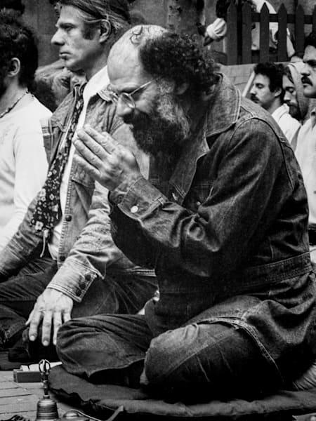 Allen Ginsberg Photography Art   Nick Levitin Photography