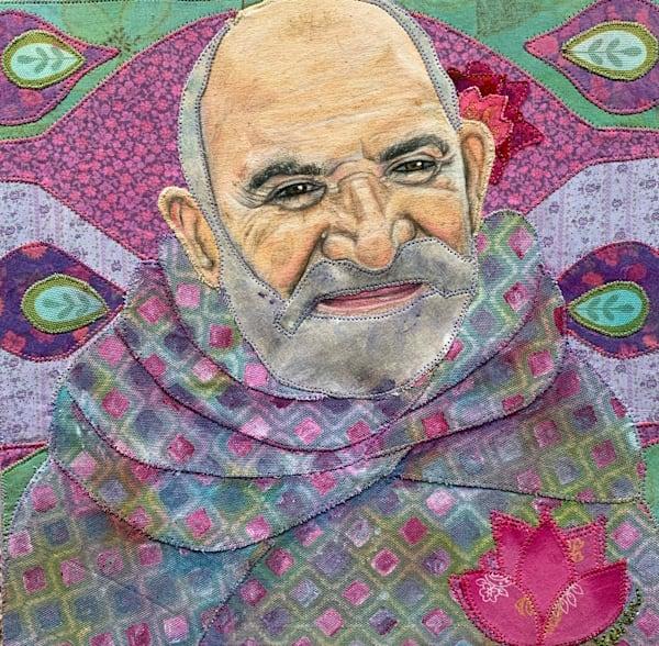 Baba Neem Karoli Art   Karen Payton Art