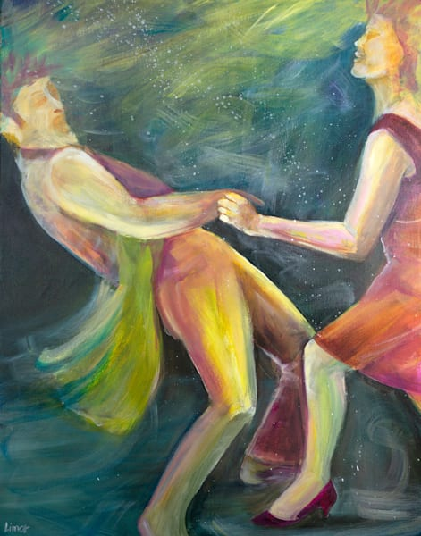 The Twist Original Art | Limor Dekel Fine Art