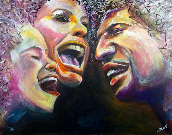 Voices Original Art | Limor Dekel Fine Art