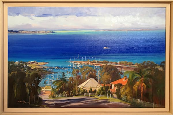 Overlooking Manly Harbour Art | Art House Reproductions
