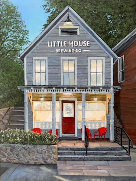 Little House Brewing Co. Art | Skip Marsh Art