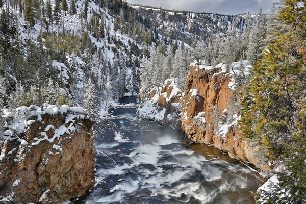 Firehole River Cascades Ii S6 A5973 Yellowstone National Park Wy Usa Photography Art | Clemens Vanderwerf Photography