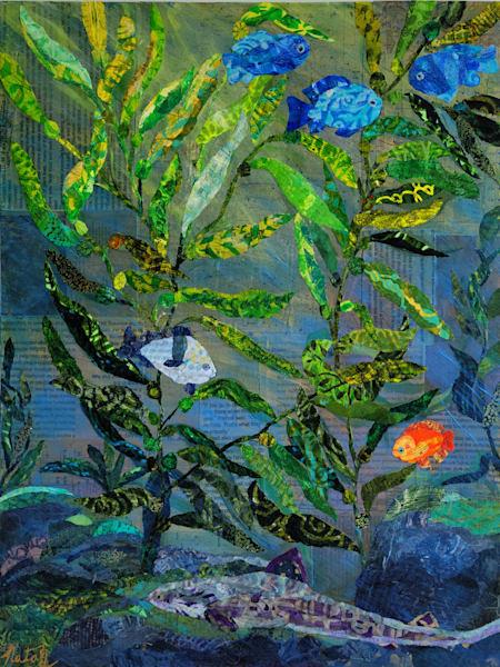 The Enchanted Kelp Forest Art | Poppyfish Studio