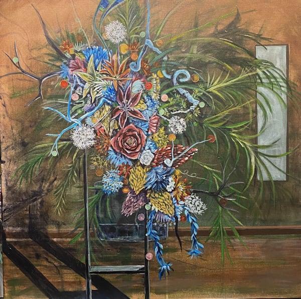 Flowers by Honduran-American New Orleans Artist sergio Alvarez