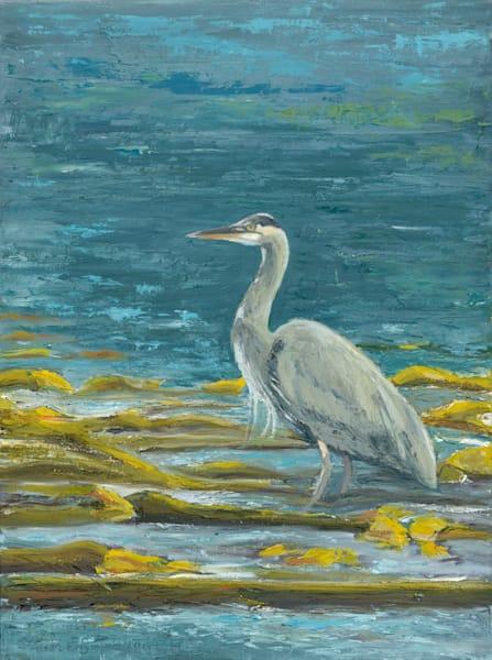 Great Blue Heron Art | Friday Harbor Atelier