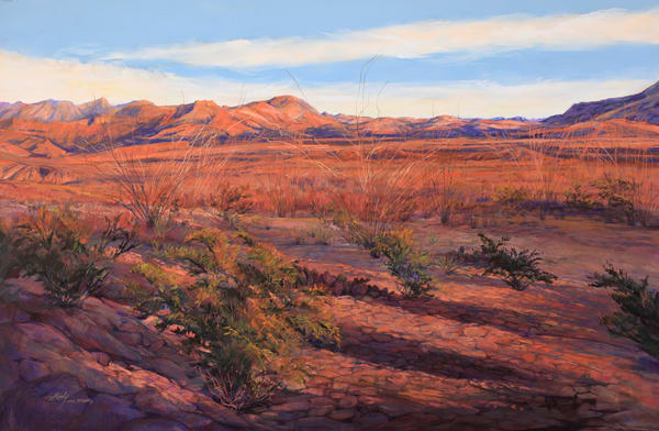 Lindy Cook Severns Art | Ribbons of Sunset, print