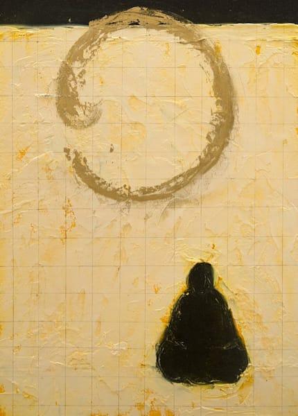 Buddha Contemplating Far Horizon Art | Norlynne Coar Fine Art